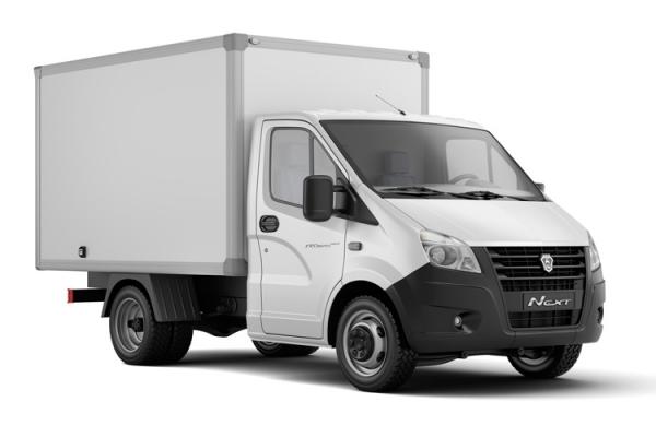 Фургон промтоварный Газель Next A21R22 дизель, будка