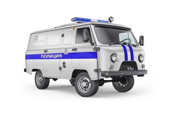 Автозак УАЗ 3741