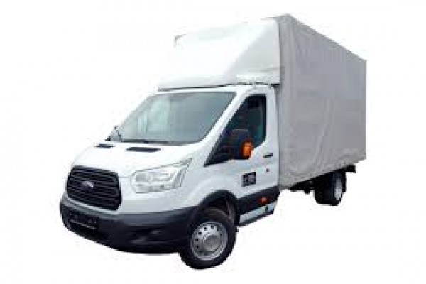 Ford Transit фургон с тентом, масса с нагрузкой 4700 кг