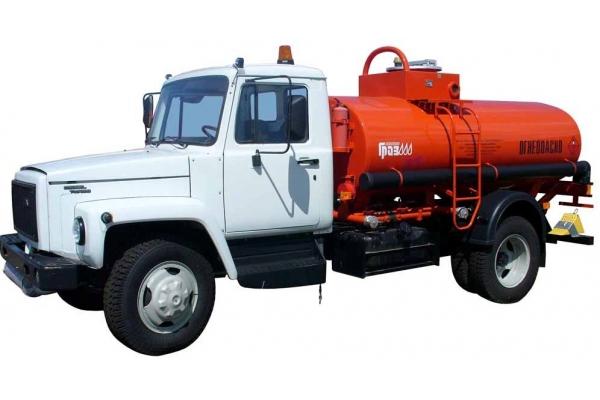 Бензовоз АТЗ 36135-011 на базе ГАЗ-3309 (1 отсек)