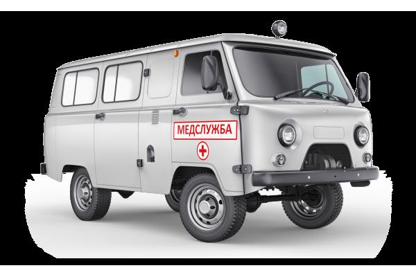 Санитарный автомобиль УАЗ 396295-460