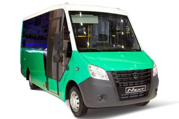Микроавтобус Газель Next городской 19 мест двигатель Cummins дизель