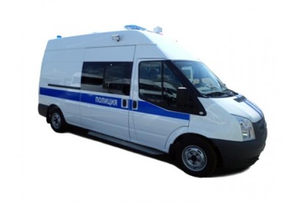 Ford Transit автомобиль полиции