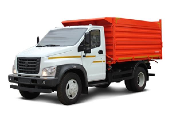 Самосвал Газон Next дизель, г/п 4600 кг трехсторонняя разгрузка