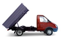 Самосвал Газель Бизнес с бензиновым двигателем (1400 кг)
