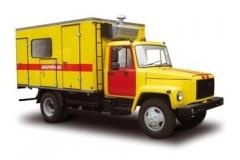 АРТК-М теплосетей и отопительных котельных ГАЗ-3309