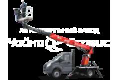Автовышка телескопическая (расположение стрелы над кабиной) Газель Next Дизель, 14.5 м