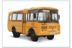 Автобус-вездеход 4x4 ПАЗ-3206 25 мест, двигатель ЗМЗ бензин