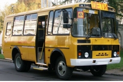 Школьный автобус-вездеход ПАЗ-3206, мест 20+2 для сопровождающих
