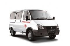Санитарный автомобиль Газ Соболь