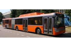 Автобус ЛИАЗ-6213 городской сочлененный низкопольный, мест 34+1/153