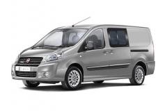 Микроавтобус Fiat Scudo Panorama Family 2.0 7+1 мест, длинная колесная база