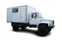 Автомастерская на базе ГАЗ-33081 Садко