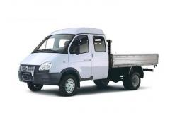 Борт Газель Бизнес 320232, удлиненная, двойная кабина, бензин